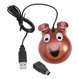 Animal-Themed Computer Mouse - Bear