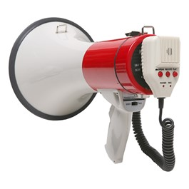 Megaphone w/ Detachable Mic (20 Watts)