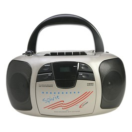 Spirit CD/Cassette Player w/ AM/FM Radio