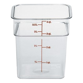 Camwear Polycarbonate Camsquare (4 Qt. Capacity)