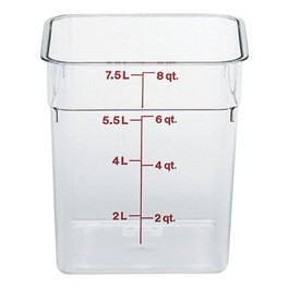 Camwear Polycarbonate Camsquare (8 Qt. Capacity)
