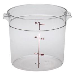Camwear Polycarbonate Round (6 Qt. Capacity)