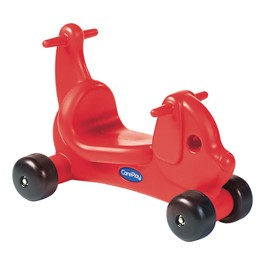 CarePlay Puppy Ride-On Walker - Red