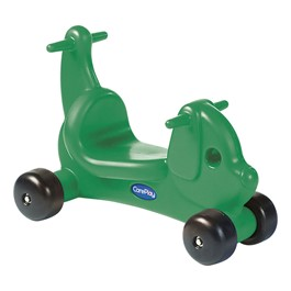 CarePlay Puppy Ride-On Walker - Green