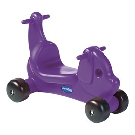 CarePlay Puppy Ride-On Walker - Purple