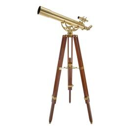 Ambassador Brass Reflector Telescope - 80mm Aperture