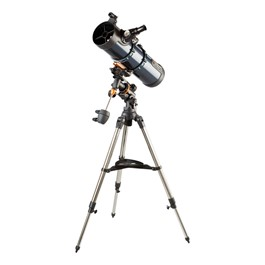 AstroMaster 130EQ Telescope w/ German Equatorial Mount - 130mm Aperture