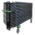 Slant-Stacking Adjustable Folding Table Truck