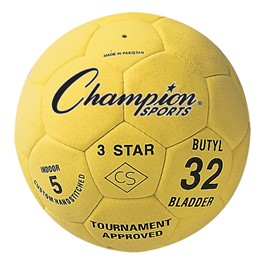 3 Star Indoor Official Weight Soccer Ball - Size 5