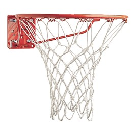 Deluxe Basketball Net w/ Non-Whip Loops - 6 mm Thick shown