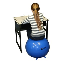 Fitpro Classroom Yoga Ball Chair W Legs 22 Diameter At School Outfitters