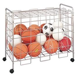 """Portable Ball Storage Cart (24 1/2\"""" W x 37 1/2\"""" L x 42\"""" H)"""