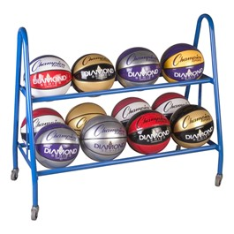 Basketball Cart – 12-Ball Capacity