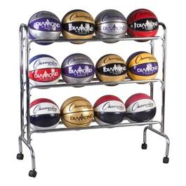 Basketball Rack - 12-Ball Capacity