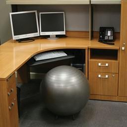 Office Balance Ball Chair w/ Legs