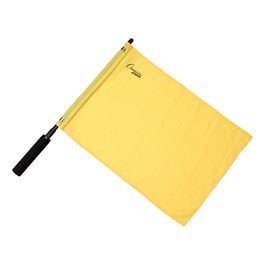 Official Solid Soccer Flag - Yellow