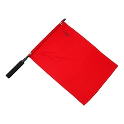 Official Solid Soccer Flag - Red