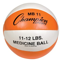 Leather Medicine Ball (11 lbs)
