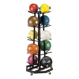 Medicine Ball Rack – Deluxe Tree