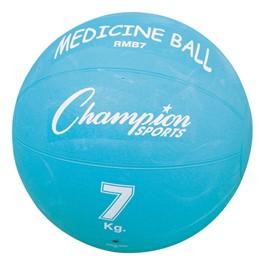Rubber Medicine Ball - (15. 4 lbs)