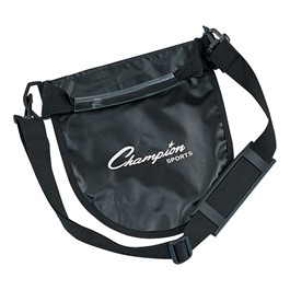 Shot & Discus Carrier - Black carrier w/ shoulder strap shown