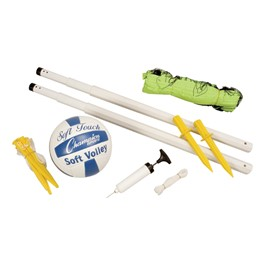 Deluxe Volleyball Set - All components