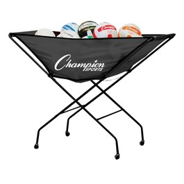 Collapsible Volleyball Cart