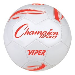 Viper Soft Touch Synthetic Leather Cover Soccer Ball - Size 3