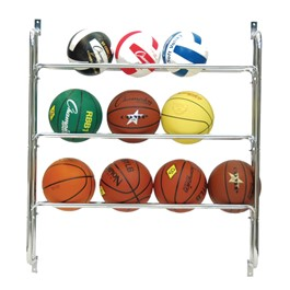 Basketball Wall Rack