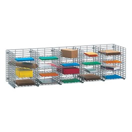Wire Mail Sorter - 20 Compartments