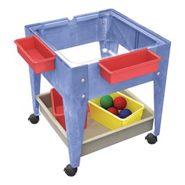 Mobile Mite Activity Center w/ Clear Tub