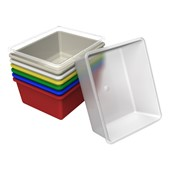 Plastic Storage Tubs & Tote Tray Storage