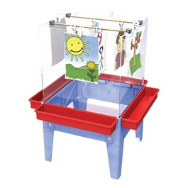 Toddler Space Saver Easel - Four Stations