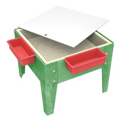 Toddler Mite Sensory Table W Mega Tray