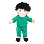 Sweat Suit Doll - Asian Boy