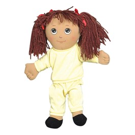 Sweat Suit Doll - Hispanic Girl