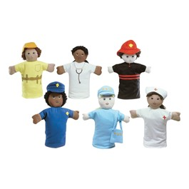Career Puppets - Set of Six