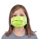Children's Fabric Pleated Face Mask (color may vary)