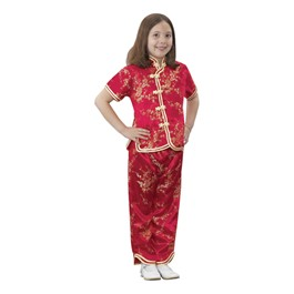 Asian Dress Up - Girl