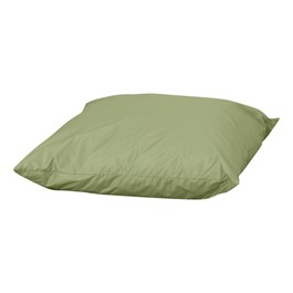 Cozy Woodland Floor Throw Pillow - Fern Green