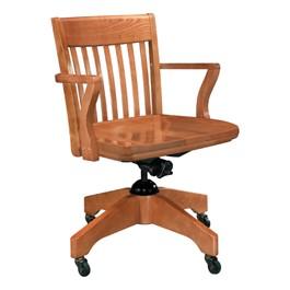 Americana Swivel Arm Bankers Chair