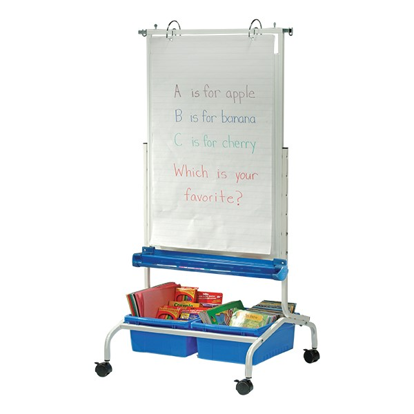 Deluxe Chart Stand with large notepad
