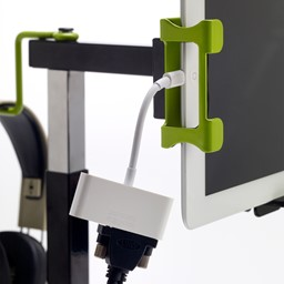 Dewey the Document Camera for i-Pad & i-Pad mini (connection example)