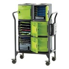 Tech Tub2® Modular Cart - holds 32 devices