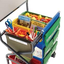 Teacher Trolley - Tub Storage