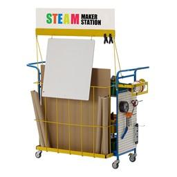 STEM/STEAM Maker Station - Premium - Back detail