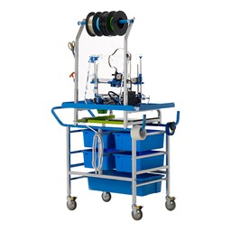3D Printer Cart - Back view