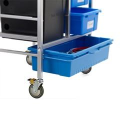 3D Printer Cart w/ Tech Tub - Casters