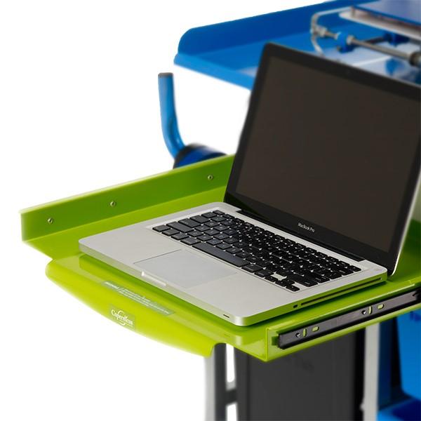 3D Printer Cart w/ Tech Tub - Laptop tray