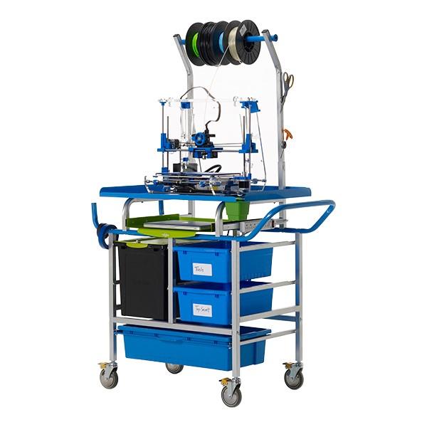 3D Printer Cart w/ Tech Tub